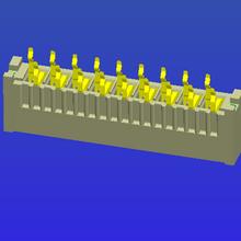 1.25mm间距B型直针双面接FPC