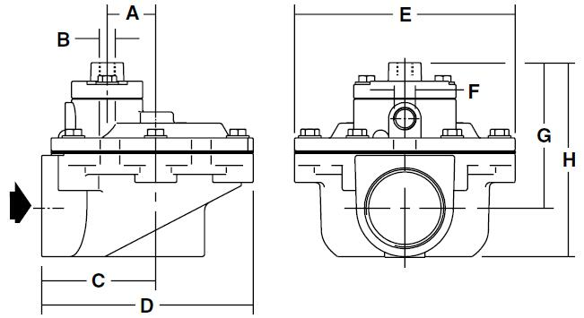 g353a048 asco 2 u0026quot  pulse jet valve air control remote pilot