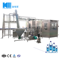 Liquid Washing Filling Capping Machine (3-in-1, 24000B/H, 500ml) CGF60-40-15