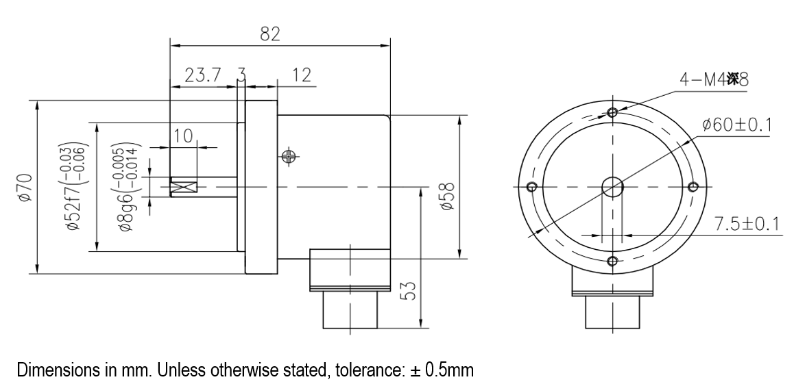 8mm encoder