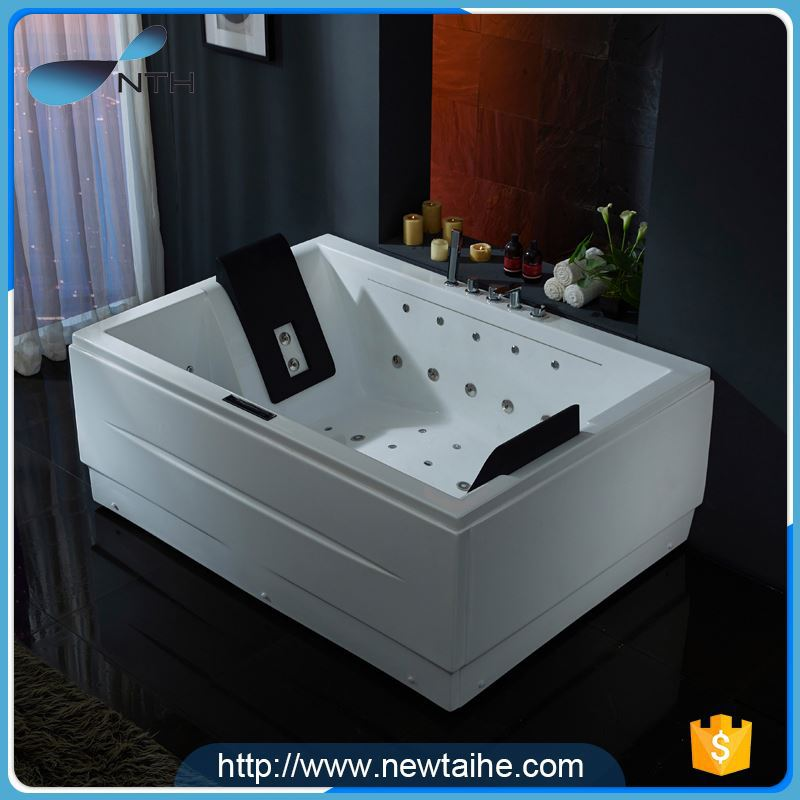 NTH china manufacturer new restroom air bubble jet soaking bath tubs ...