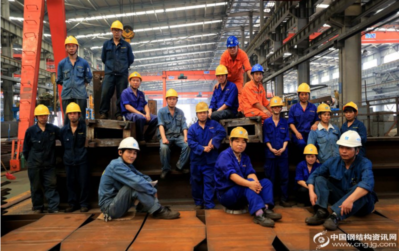 steel structure-Workers