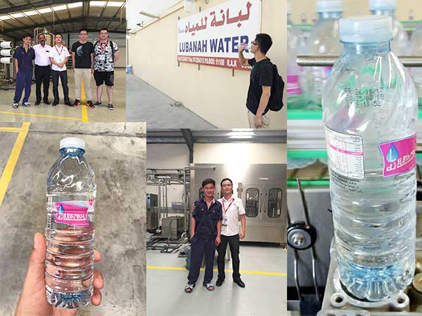 King Machine paid a return visit to Dubai customer plant