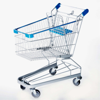 Germany Style Shopping Trolley 100L