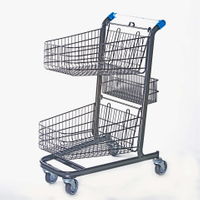 Canada Style Supermarket Shopping Trolley (YRD-C3)