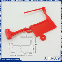 Heavy duty padlock seals