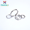 hot-selling cable gland nut nickel plated brass emc locknut