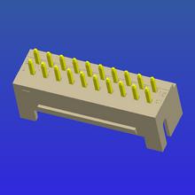 PH2.0mm间距单排加厚带扣T2曲针