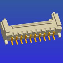 PH2.0mm spacing single line belt buckle SMT