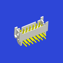 PHT 2.0mm spacing 90°WAFER two-row curved pin