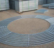 Round Shape Steel Grating for Expo Stage