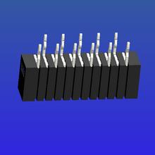 1.0mm间距A型双面接直针无锁式FPC