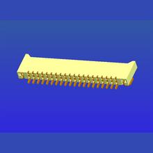 1.0mm间距E型双面接2.0高卧贴无锁式FPC