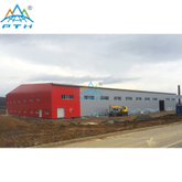Steel Structure Warehouse in Slovakia