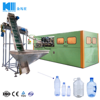 Full Automatic 6 Cavities Blowing Machine 6000BPH For 500mL