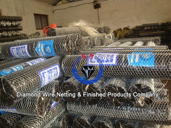 hexagonal poultrynetting packing