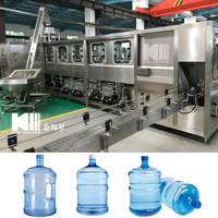900BPH 3-5 Gallon Bottle Filling Machine