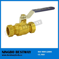 Two Pieces Lead Free Compression Ball Valve (BW-LFB07)