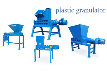 How is the plastic granulator applied ?