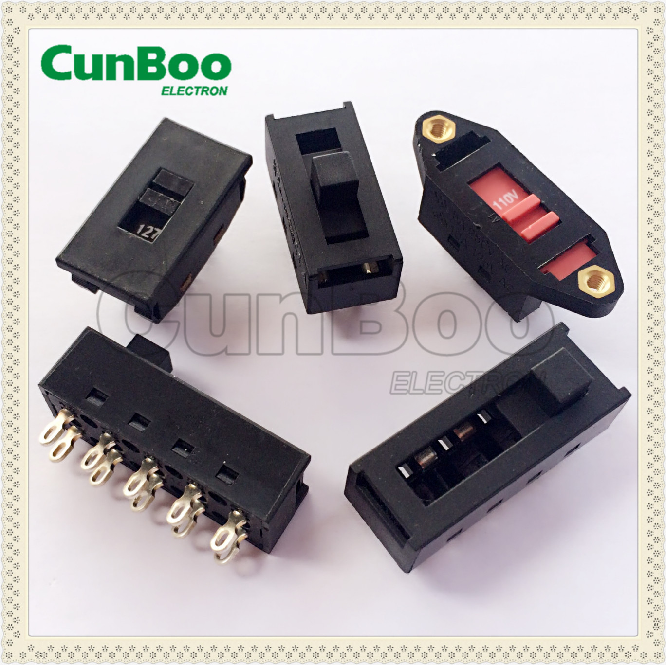 8A slider switch