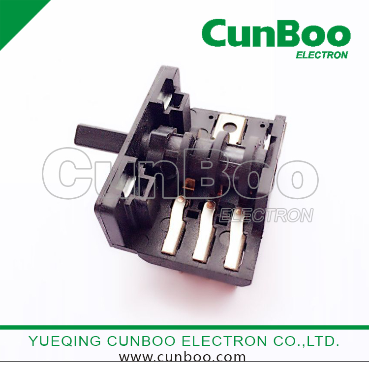 China rotary switch,0-5 positions selection switch,kitchen appliance ...