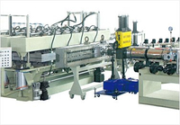 PP PC PE Hollow Sheet Extrusion Machine Line
