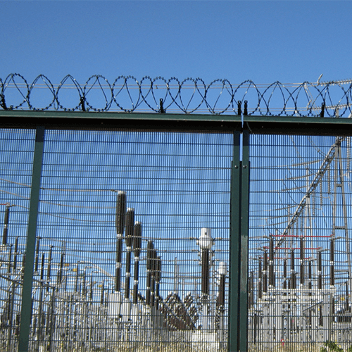 High Security Wire Fence