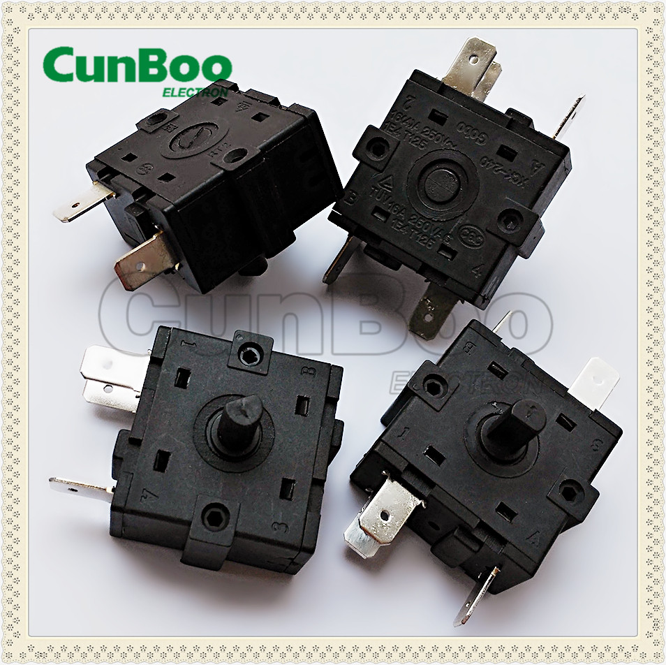 Electrical Appliance used Rotary Switches