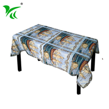 Top fashion special design jacquard embroidered tablecloth