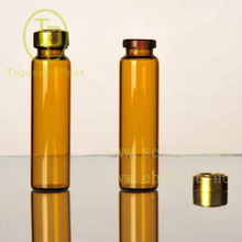 TP-4 Supply 8ml brown penicillin bottle with cap