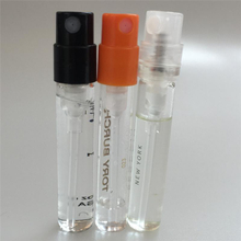 5ml plastic glass perfume tester via
