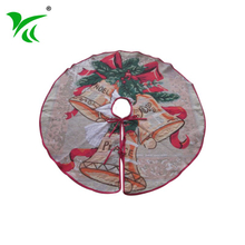 Custominzed country solid red kids christmas tree skirts