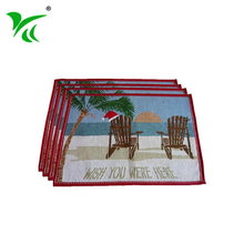 Alibaba suppliers best tapestry woven place mat table placemat