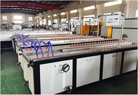 PVC / PE / PP Wood Plastic Profile Production Line