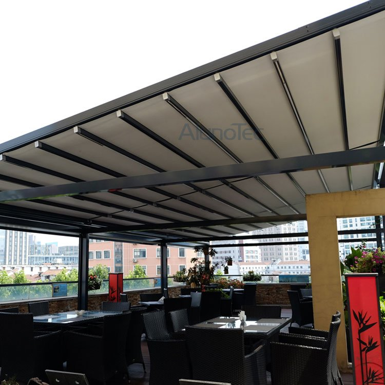 Outdoor Wind Resistance Waterproof Aluminium Pvc