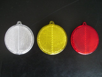Round Safety Reflector