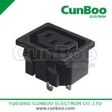 AC-04 Female Power Socket 3P with snap-in