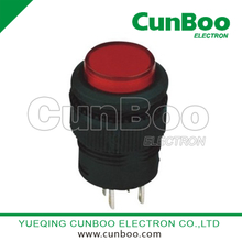 R16-503AD-BD illuminated push button switch