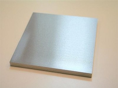 The production of titanium plate
