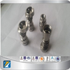 14mm 18mm domeless titanium nail for glass smoking nail, gr2 titanium nail for