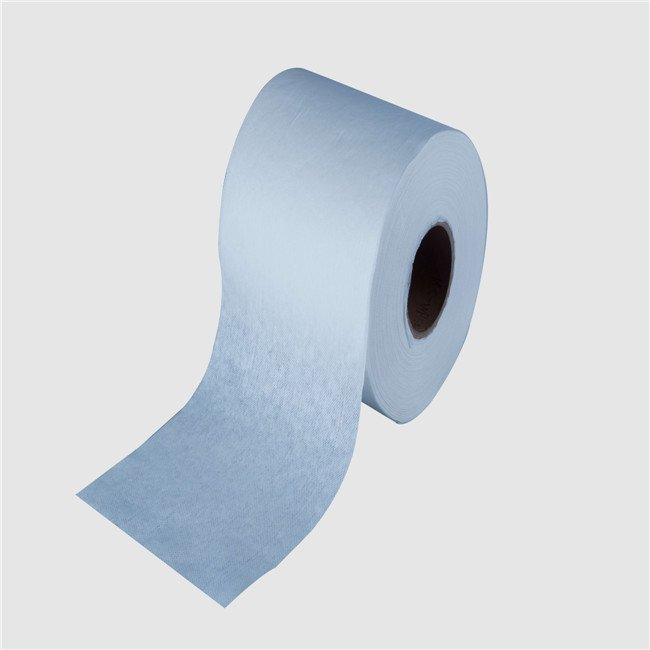 china manufacturer wet wipes material spunlace non woven wipe fabric rolls