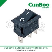 KCD1-102B on-on 3pins rocker switch