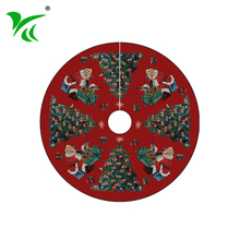 Factory sale popular inexpensive light up christmas tree skirt