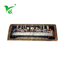 China heat-resistant cotton polyester wedding table runners fancy