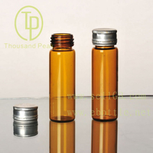 TP-4--02 15ml brown explosion proof mouth with aluminum