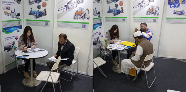 customers' visit in ArasPlast 2019