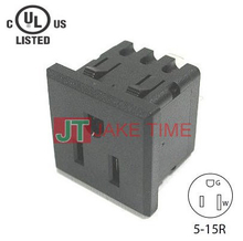 NEMA 5-15R Non-Locking Receptacle