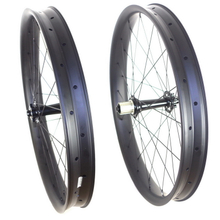 TIMETEC 26 INCH FAT BIKE CARBON WHEELS 65 MM WIDTH TUBELESS