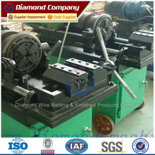 220V power Electrical bar thread rolling machine