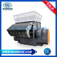 Industrial Waste Fishing Net Shredding Machine Plastic Bags Shredder